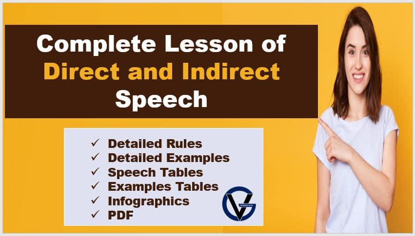 01 Uqybjgil6dm How would one change the narration he said, 'i am not well' into indirect speech? https grammarvocab com direct and indirect speech