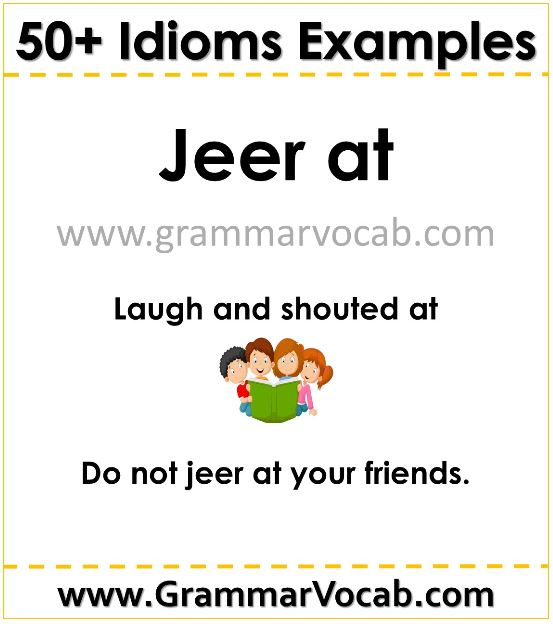 idioms examples for students pdf