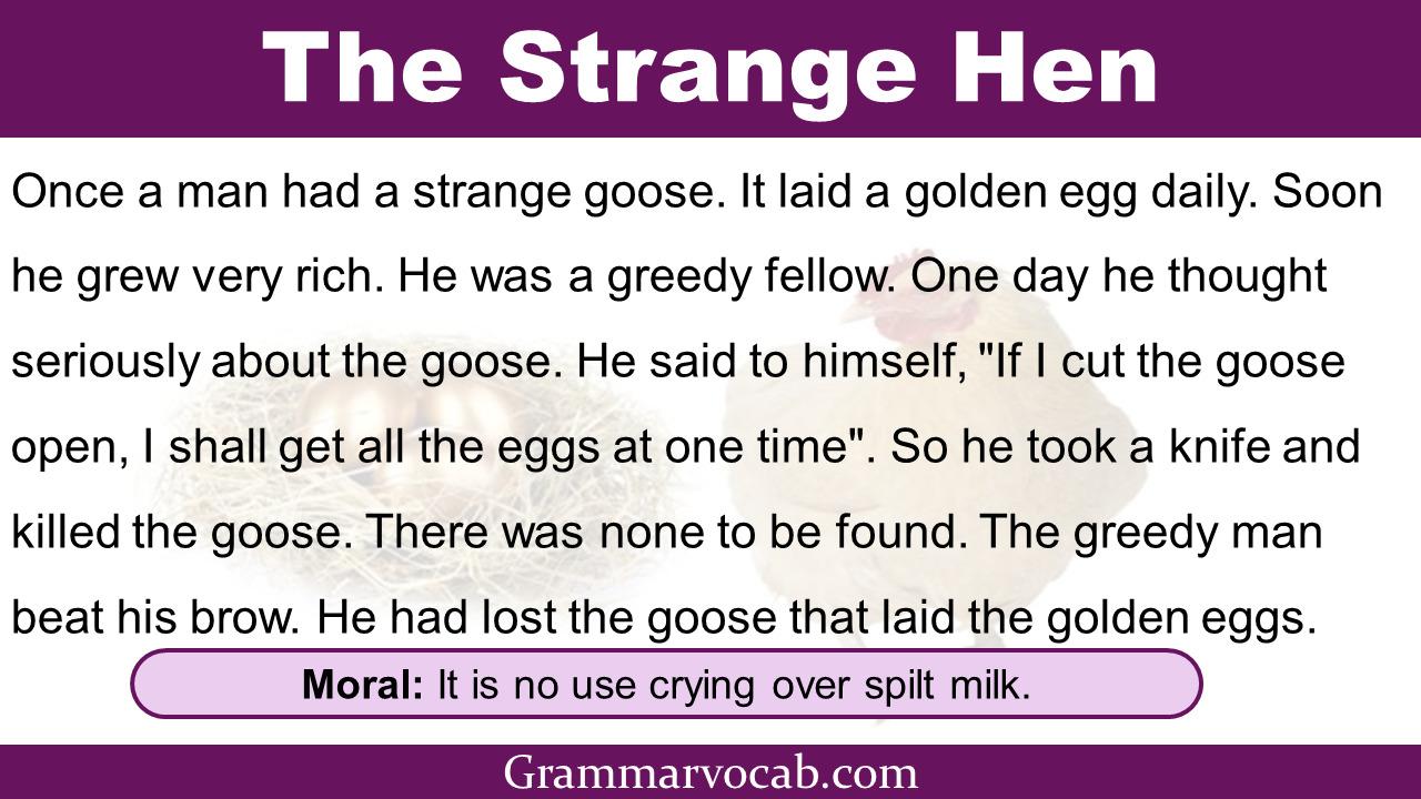 The strange hen