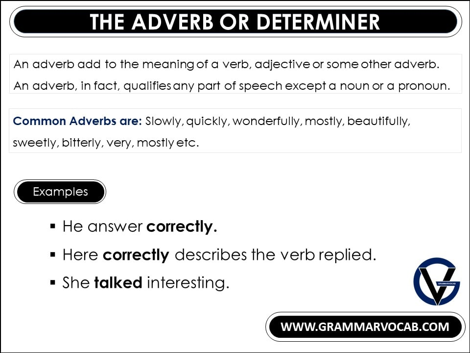 10 kinds of adverbs and examples