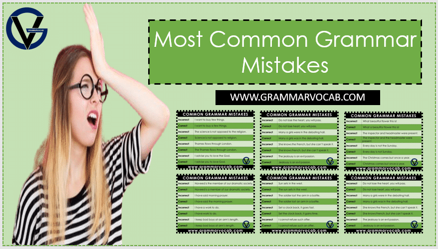 common spoken grammar mistakes