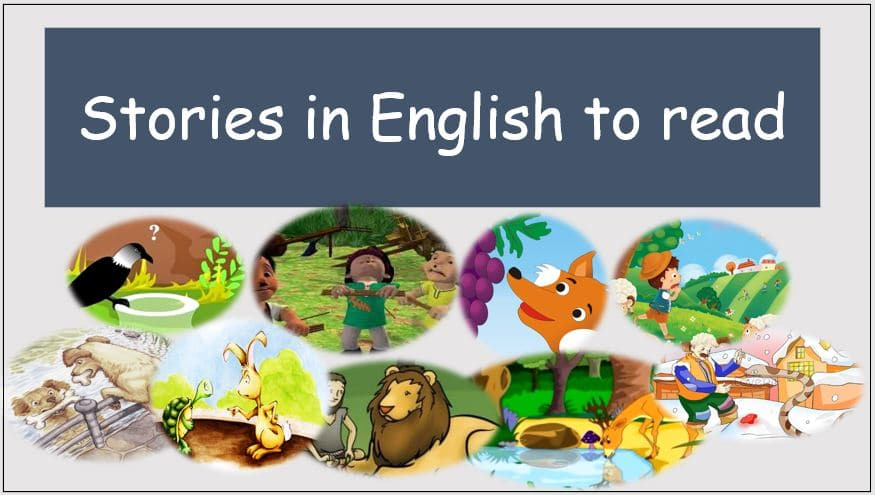 stories in english to read