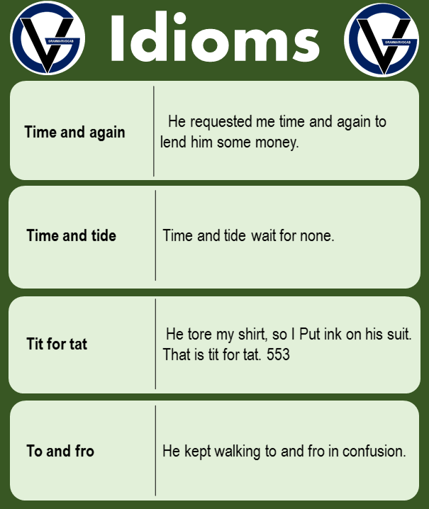 idioms examples