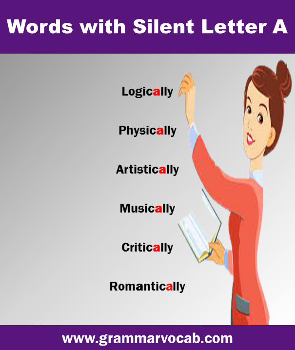 word with silent A