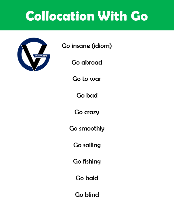 collocation with go